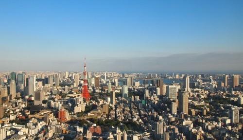 六本木ヒルズ森タワーの展望台からジオラマ動画で東京タワーを撮ってみた