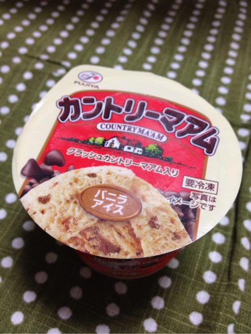 赤城乳業がまたやった!ガリポタの次はこれだ!カントリーマアムアイスを食べたよ!