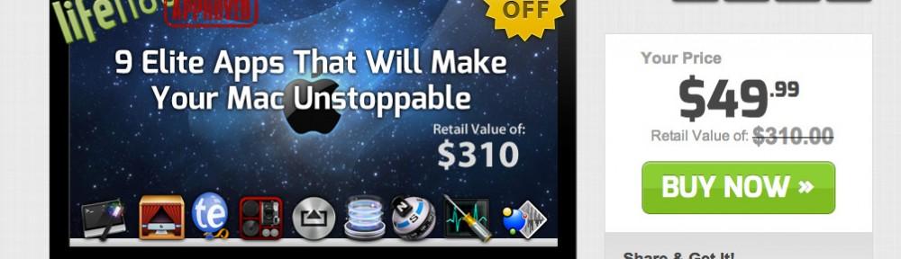 震えるほど安いというStackSocialのMacアプリ9個セットのセールにどんなアプリが入っているのか調べてみた